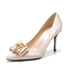 3 inch High Heel Elegant Stiletto Bridal Shoes