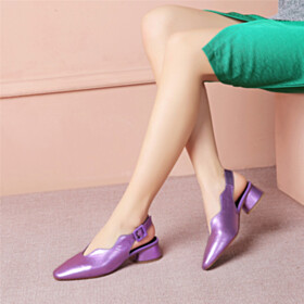 Thick Heel 4 cm Low Heel Womens Footwear Going Out Footwear