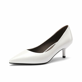 Classic Spring Low Heels Office Shoes Pointed Toe