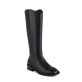 Flats Classic Vintage Black 2021 Boot Closed Toe