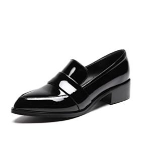 Flats Black Fashion Closed Toe Loafers 2021