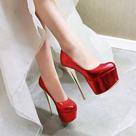 Platform Heel Going Out Footwear Classic 6 inch High Heel