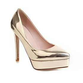 High Heel Shoes Pumps Stilettos Pointed Toe Sparkly