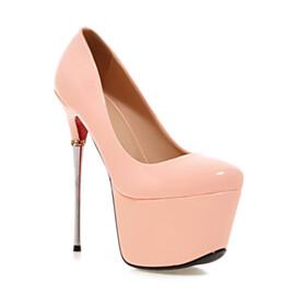 Nude Red Bottoms 6 inch High Heel Stilettos Fashion