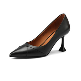 Pumps Leather Business Casual Shoes High Heel Office Shoes