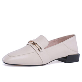 Business Casual Shoes Leather Classic Closed Toe Loafers
