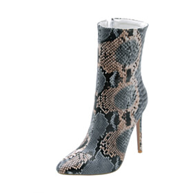 High Heels Ankle Boots Pointed Toe Going Out Shoes