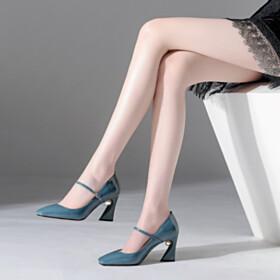 Womens Footwear Comfort Pumps Pearls 7 cm Heel Business Casual