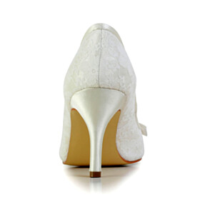 Peep Toe Party Shoes With Bowknot Flower 3 inch High Heel Satin Stilettos Round Toe Pumps Rhinestones Wedding Shoes For Bridal