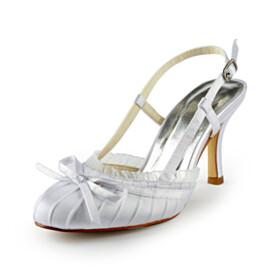 Wedding Shoes Ruffle High Heel Sandals Evening Party Shoes Beautiful